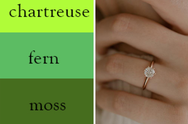 Tell Us What Color You See And We'll Guess What Your Engagement Ring Will Look Like
